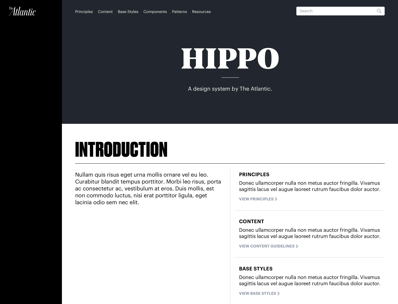hippo-styleguide